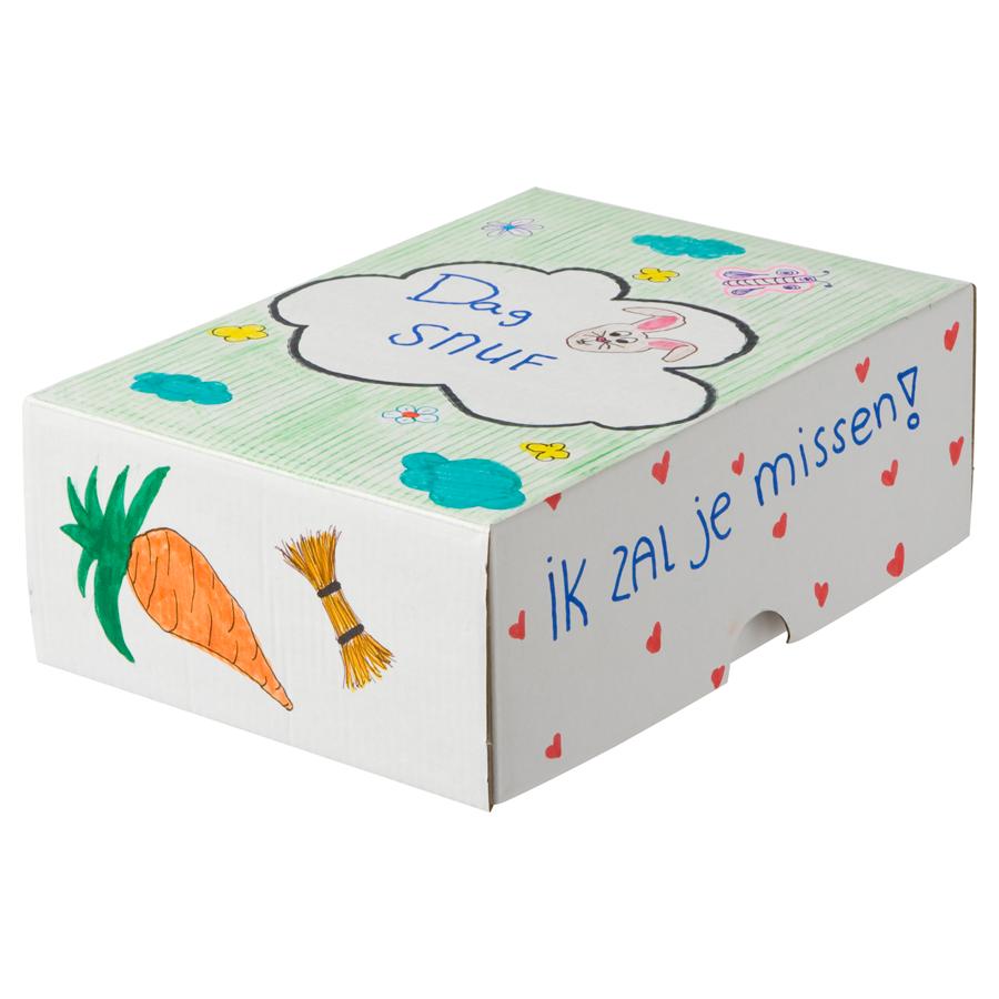 Dag-Dag doosje helpt kinderen een verlies te verwerken