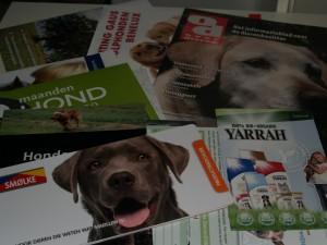 hondenbox brochures