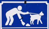 Hond uitlaten en poep opruimen
