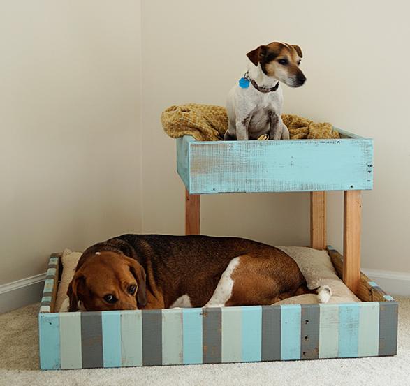 Hondenmand met torentje – DIY