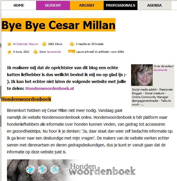 in de media 42bis.nl